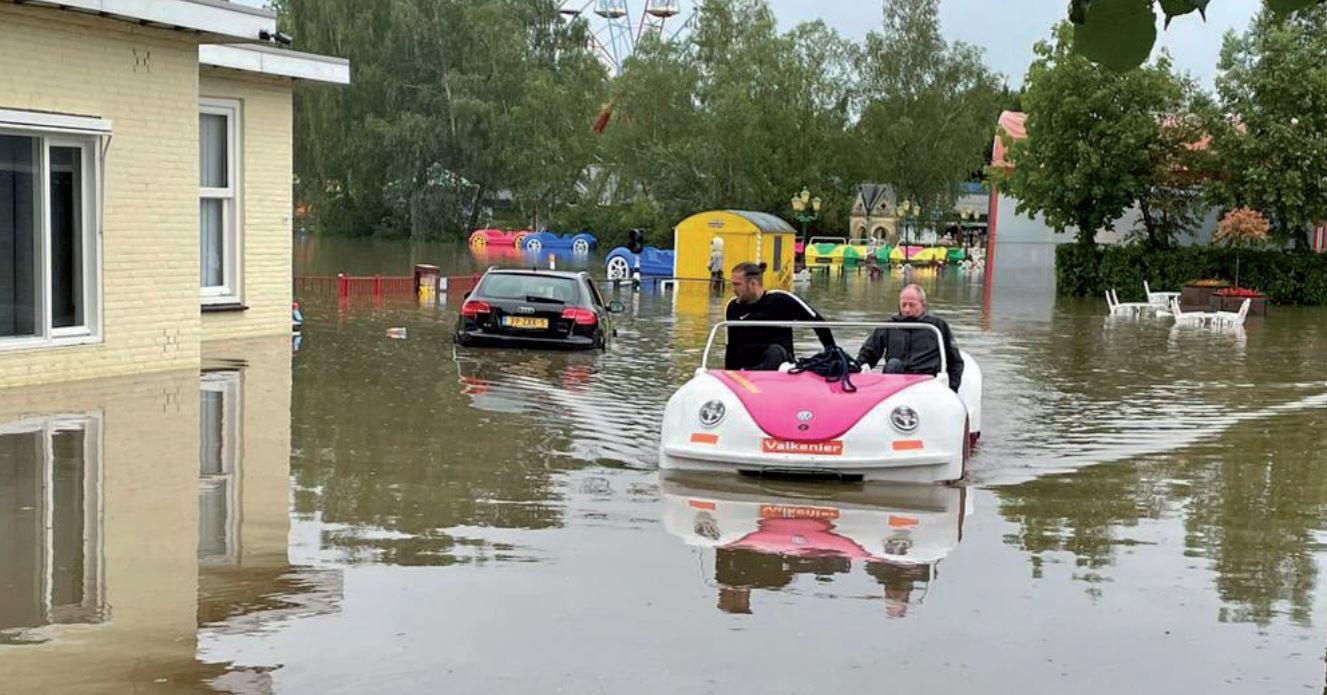 Pretpark De Valkenier sluit deuren in verband met overstroming Valkenburg Weekblad Goed Nieuws