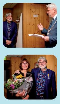 Afzwaaiend voorzitter IVN-afdeling BeekdaelenNuth ontvangt Koninklijke onderscheiding Weekblad Goed Nieuws