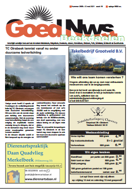Weekblad Goed Nieuws Nieuwe Oplage